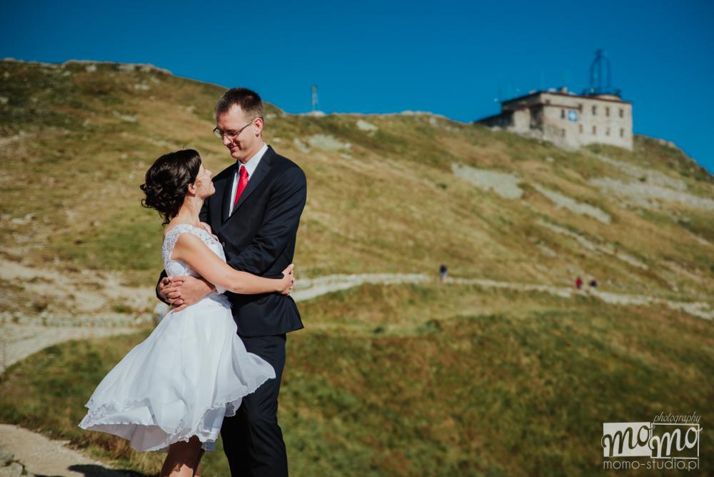 Sesja fotograficzna w Tatrach