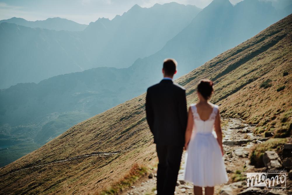 Asia i Tomek plener ślubny