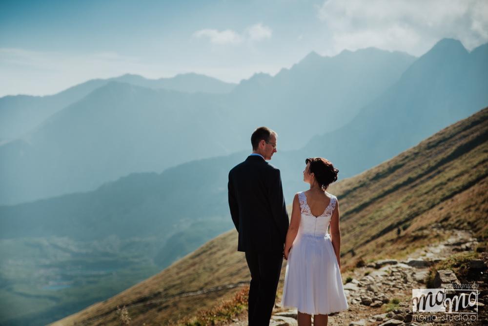 Fotografia ślubna w Tatrach