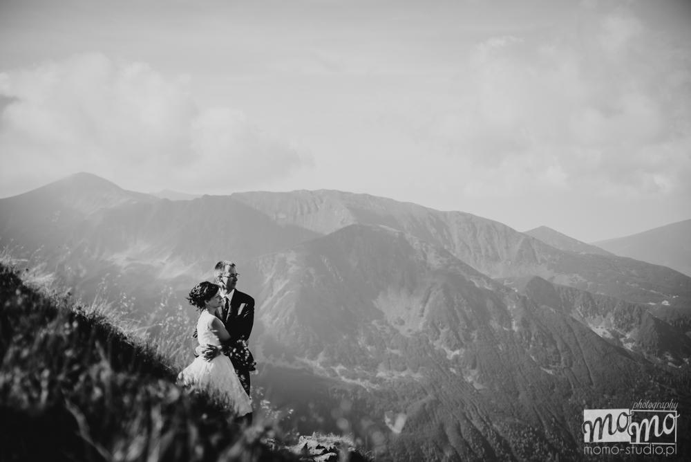 Fotografia ślubna na Kasprowym Wierchu