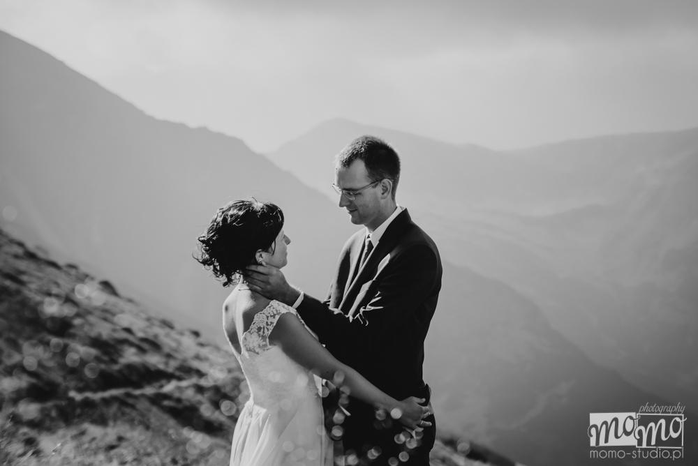 Zdjęcia ślubne na Kasprowym Wierchu