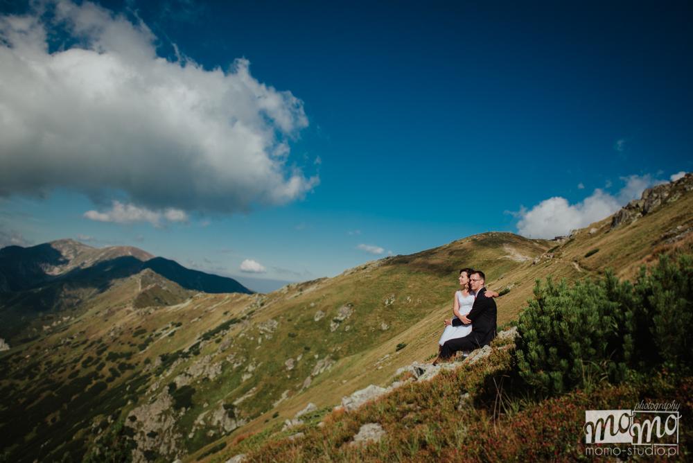 Zdjęcia ze ślubu w Tatrach