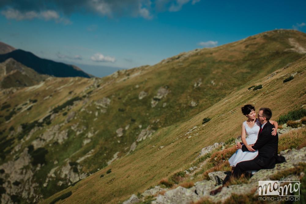 Fotograf ślubny na Kasprowym Wierchu