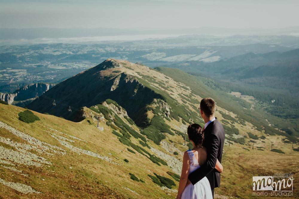 Sesja fotograficzna w górach