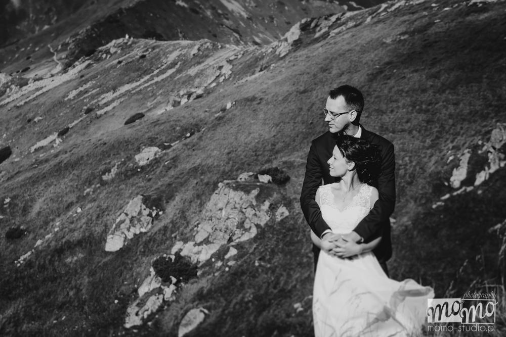Ślubna sesja plenerowa na Kasprowym Wierchu