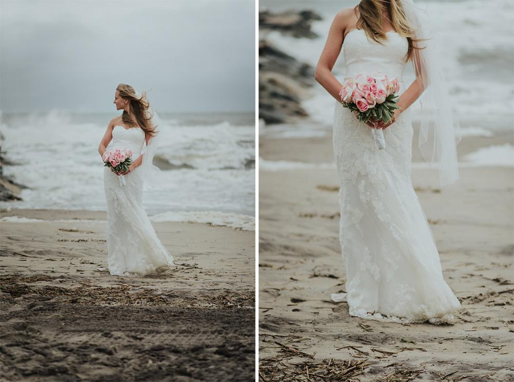 zdjęcia ze ślubu nad morzem