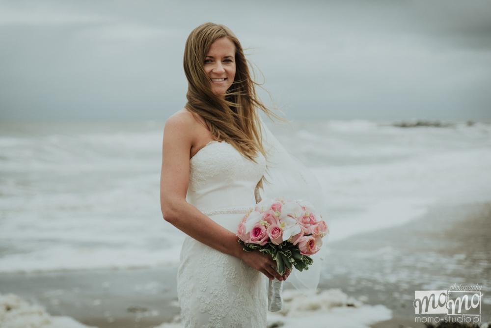 fotograf ślubny na plaży