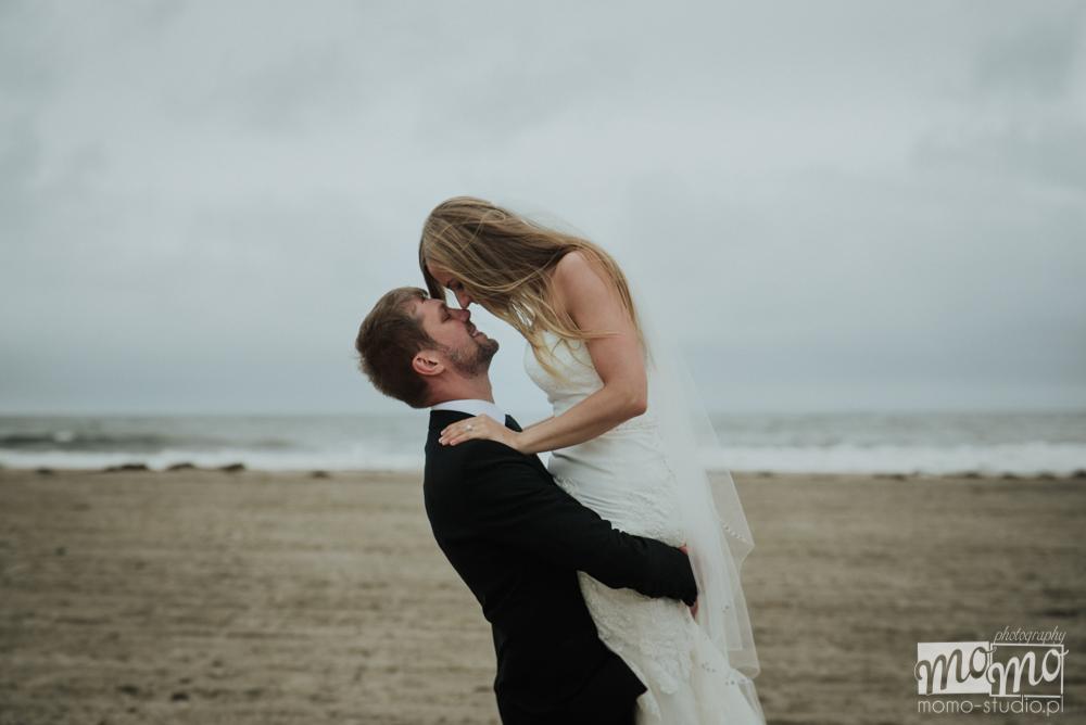 fotografia ślubna nad morzem Justyna i Darek