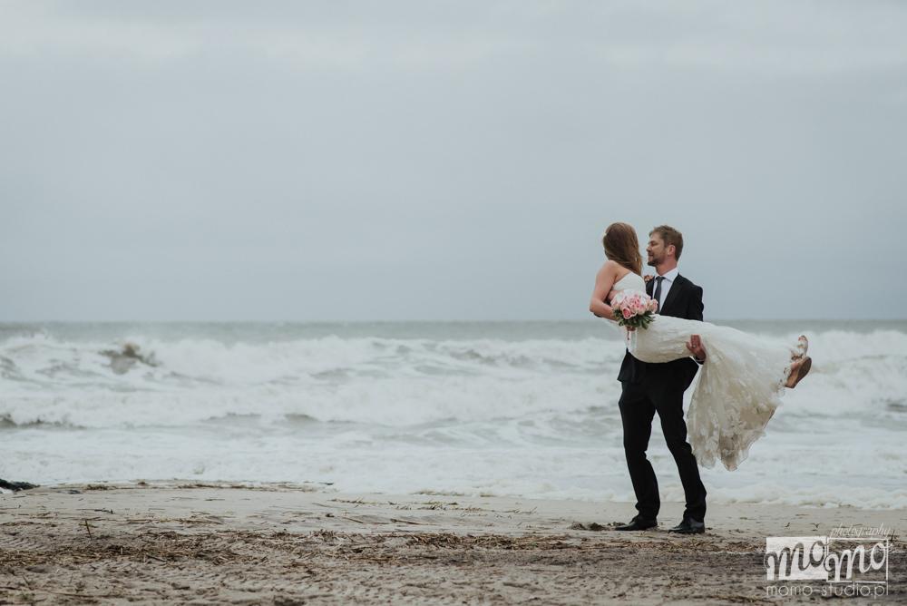 fotograf ślubny nad morzem